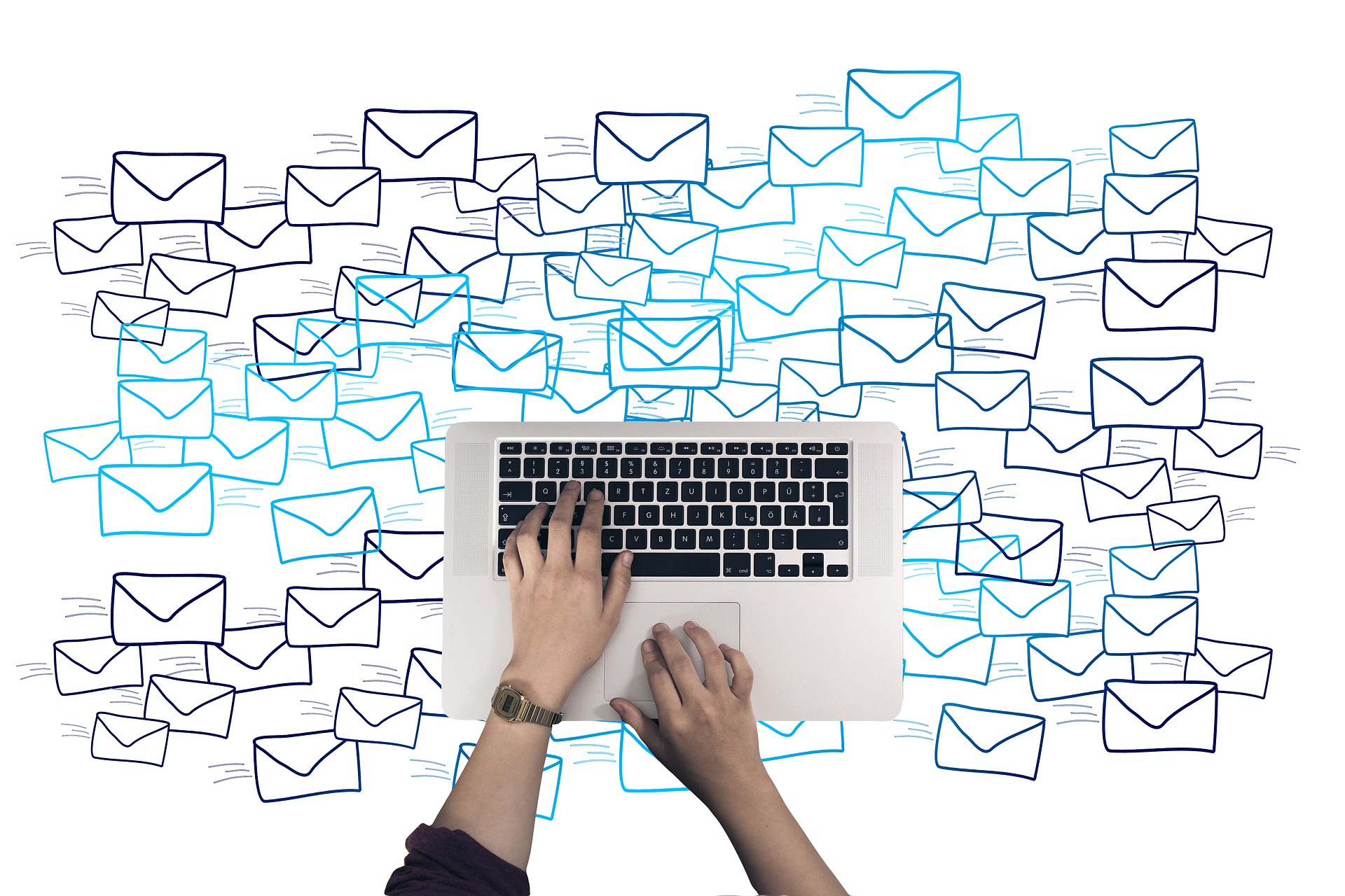 Email marketing is convenient.